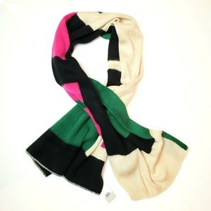 NWT Nordstrom BP Colorblock Wrap Scarf